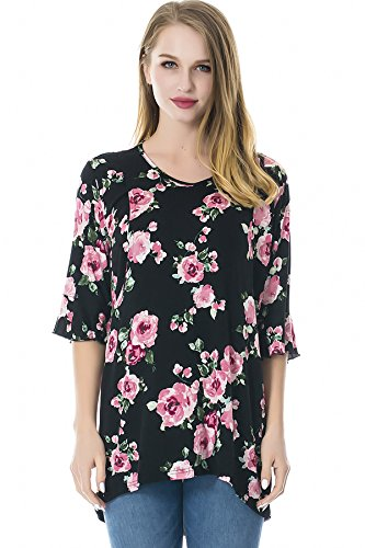 Smallshow Women's Nursing Tops Breastfeeding Clothes Large SVP007 by Smallshow
