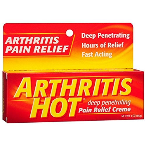 Arthritis Hot Pain Relief Creme 3 oz (Pack of 5) Hot Creme