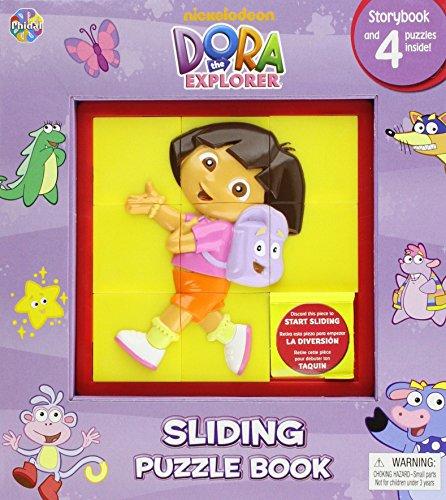 Dora the Explorer Sliding Puzzle Book (2010