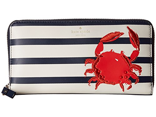Kate Spade Striped Handbags - Kate Spade New York Women's Shore Thing Crab Lacey Multi One Size