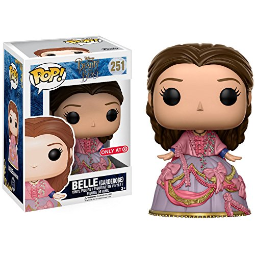 Funko Belle [Garden Robe] (Target Exclusive): Beauty & The Beast x POP! Disney Vinyl Figure & 1 PET Plastic Graphical Protector Bundle [#251 / 12798 - B]