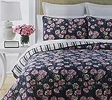 Martha Stewart Collection Carnation Field Full/Queen Quilt