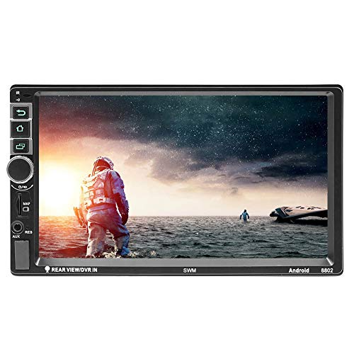 SWM 8802 Double Din Car Stereo Android 7.1 Car MP5: Amazon.co.uk: Electronics