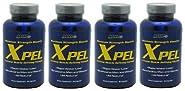 4 x MHP Xpel (4 bottles/320 capsules)