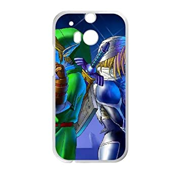 HTC One M8 Cell Phone Case White The Legend of Zelda Ocarina ...