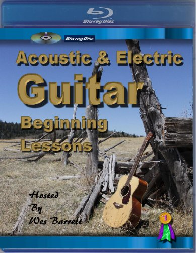[Blu-ray] Acoustic & Electric Guitar Beginning (Beginning Acoustic Guitar Video)