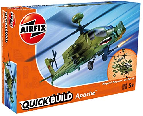 Airfix Quickbuild Boeing Apache Airplane Model Kit