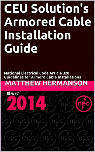 ceu solution s armored cable installation guide national electrical rh amazon com Electric Motor Electric Motor