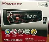 PIONEER DEH-X1810UB AM/FM CD RDS CAR STEREO RECEIVER NEW (Renewed)