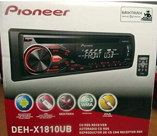 PIONEER DEH-X1810UB AM/FM CD RDS CAR STEREO RECEIVER NEW (Renewed) (Pioneer Rds)
