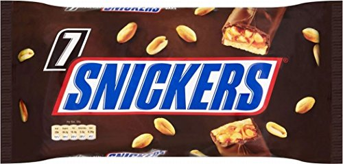 Snickers Bar (7 per pack - 366g) - Pack of 2