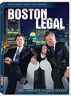 Boston Legal: Season 2 (B002XLGOCM) | Amazon price tracker / tracking, Amazon price history charts, Amazon price watches, Amazon price drop alerts