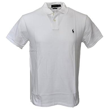 Polo Ralph Lauren Men Slim Fit Mesh Polo Shirt, White, Medium