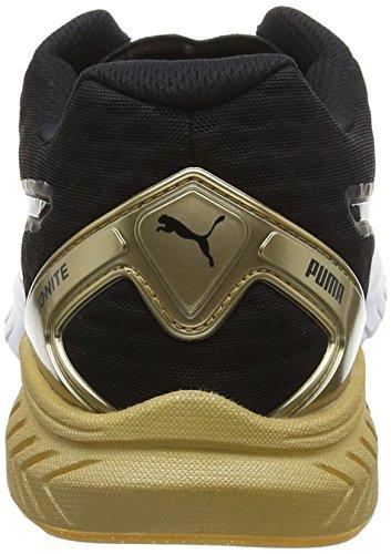 Puma Damen Ignite Dual Gold Wns Laufschuhe Schwarz (puma BLACK-GOLD 02)