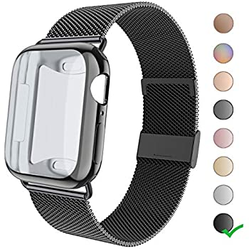 Amazon.com: RXCOO Compatible for Apple Watch Band 38mm/40mm ...