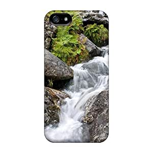 Defender Case With Nice Appearance (waterfall On Dovedale Beck) For Iphone 5/5s
