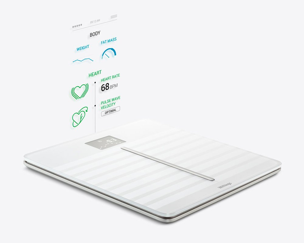 Withings Body Cardio - Heart Health and Body Composition Wi-Fi Scale, White by Withings (Image #2)