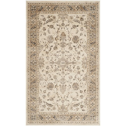 Safavieh Vintage Premium Collection VTG168-3450 Transitional Oriental Stone and Caramel Distressed Silky Viscose Area Rug (2'7