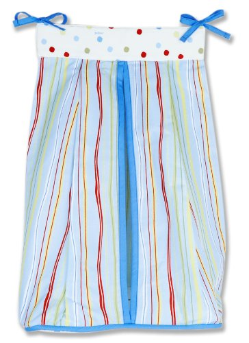 Trend Lab Dr. Seuss Diaper Stacker, One Fish Two -