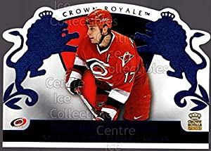 (CI) Rod Brind'Amour Hockey Card 2002-03 Crown Royale Retail 16 Rod Brind'Amour