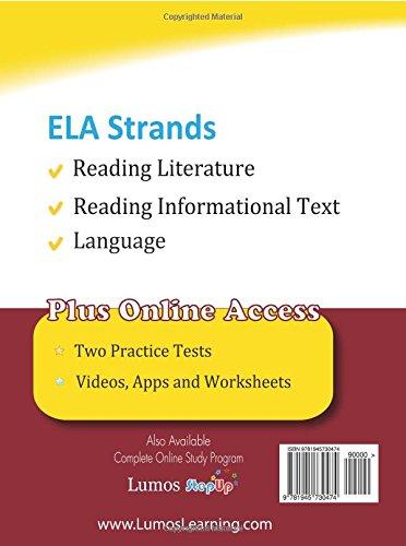 Ohio State Test Prep: Grade 8 English Language Arts Literacy (ELA ...