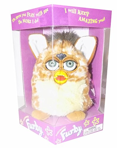 Furby Giraffe with Green Eyes, Model 70-800, Original 1998 Version