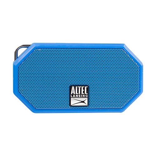 Altec Lansing IMW257 Mini H2O Wireless Bluetooth Waterproof Speaker Blue