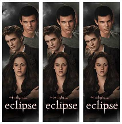 Twilight Eclipse - Jacob Edward Bella 3D Bookmark: Amazon co