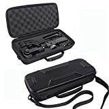 #10: Hard Travel Case for Zhiyun Smooth 4 Handheld Gimbal Stabilizer,Tripod Stand Carry Bag Protective Box Handbag (Black)