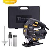 Best Jig Saws With Lasers - Jigsaw, TECCPO 6.5 Amp 3000SPM Jig Saw Review