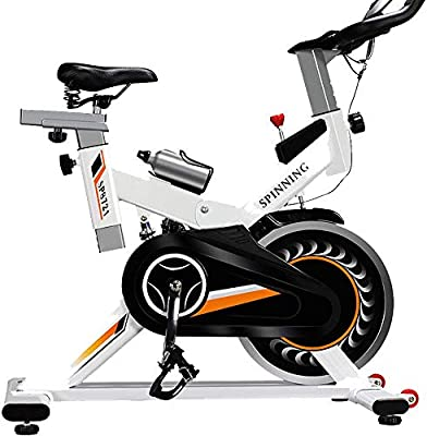 Hogar Blanco Bicicleta De Spinning - Aerobic Office Multi ...