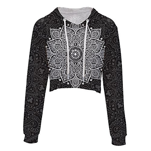 Amazon.com : SXELODIE Fashion 3D Hoodie Exposed Navel Fashion Hooded Womens Printed Funny Hoodie Pullover Graphic : Sports & Outdoors