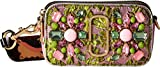 Marc Jacobs Women's Snapshot Camera Bag in Floral Brocade, Green Multi, One Size