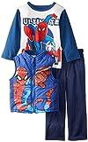 Marvel Boys' 3 Piece Spiderman Vest Set