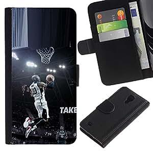 Stuss Case / Funda Carcasa PU de Cuero - 10 Bryant Baloncesto - Samsung Galaxy S4 IV I9500