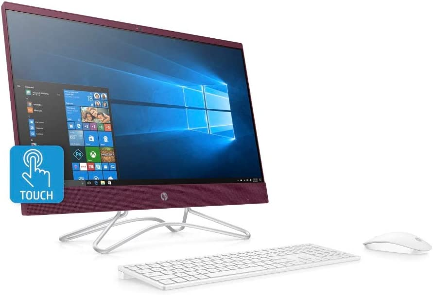 Renewed HP Factory Recertified HP 23.8inch Full HD Touchscreen All-in-One PC Intel Pentium 8GB 1TB HDD
