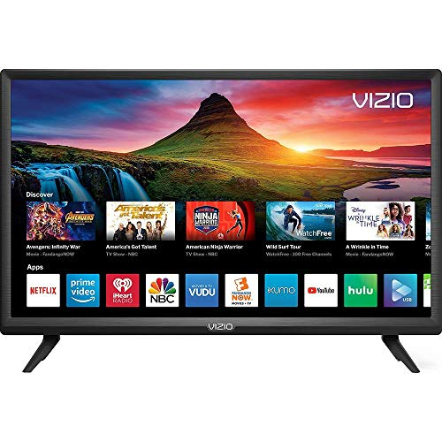 "VIZIO D-Series 24"" Class LED HDTV Smart TV - D24f-G9 (Renewed)"