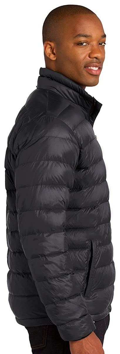Port Authority Mens Warmth Heavyweight Down Jacket Black