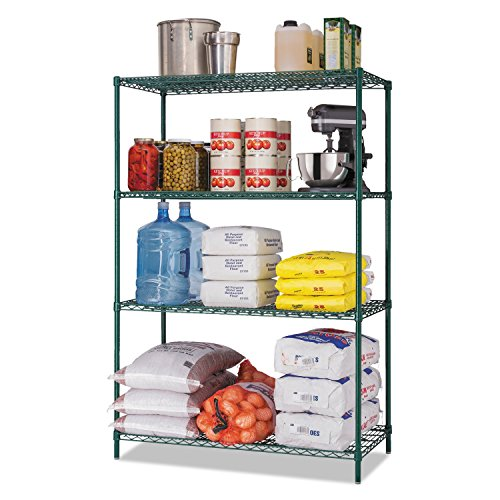 Review Alera All-Purpose Wire Shelving Starter Kit, 48 by 24 by By Alera by Alera