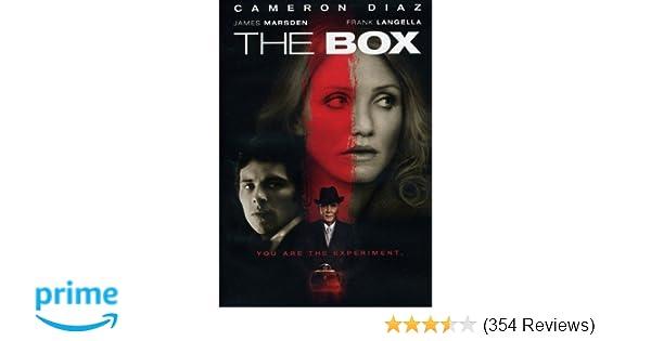 Amazon The Box Cameron Diaz James Marsden Frank