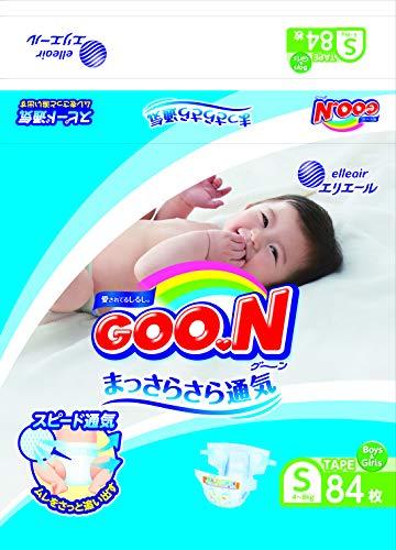Elleair Goo.N Diaper (with Tape Straps) Size S (x84)