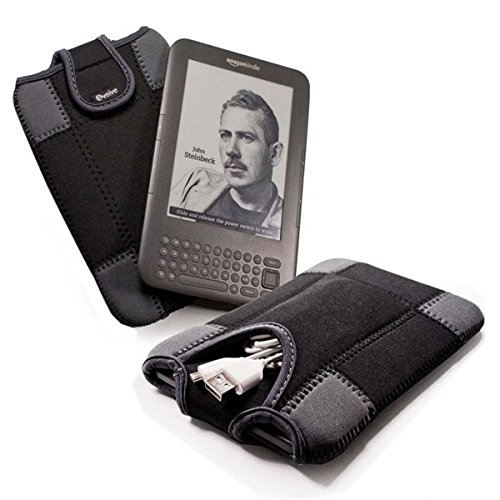 E-volve e-glove neoprene sleeve case cover for netbook / laptop / notebook - in size: 6'' inch / (15.75 cm) / compatible with (Ereader Bebook mini / Club / Neo / Barnes & Noble Nook & Colour / Archos 70 / Creative Ziio / Bookeen Odyssey / Kobo Wifi / Touch by Evolve