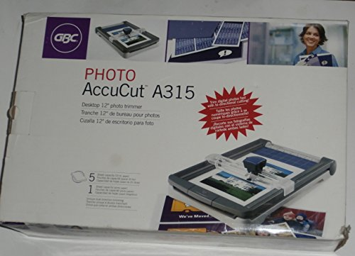GBC AccuCut Desktop 12'' Photo Trimmer Cutter A315 by GBC