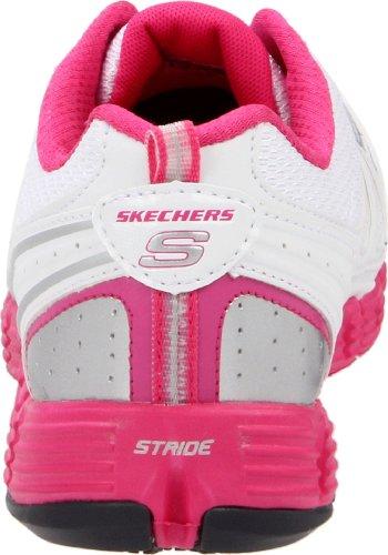 Skechers Sport Kvinna Steg-nästa Steg Sneaker Vit / Shock Rosa