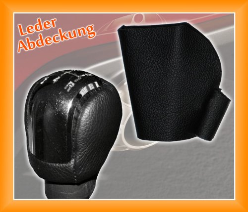 myshopx SB-210 Leder Abdeckung fü r Schaltknauf