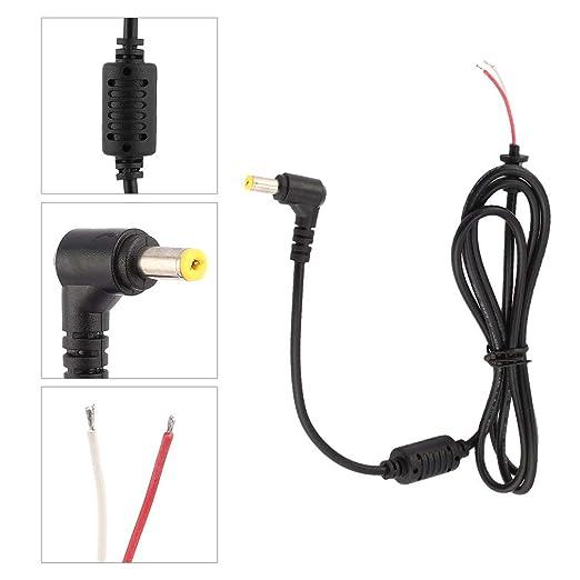 Conector de cable de alimentación CC recto de 5,5 x 1,7 mm ...