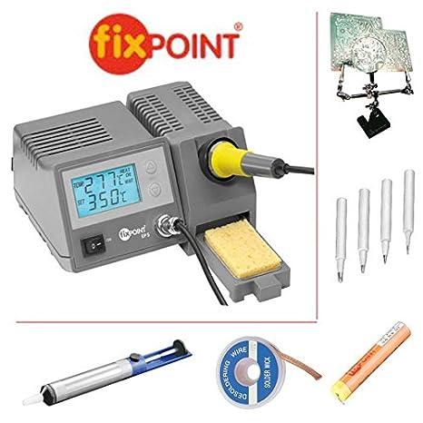Set de 9 piezas: Fixpoint Soldadura Digital (con 3. Mano/soldadura,