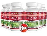 Green tea appetite suppressant - GREEN TEA EXTRACT - memory booster (6 Bottles)