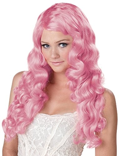 California Costumes Women's Sweet Tart Wig Long Anime Lolita Fairytale Style, Lilac, One Size]()