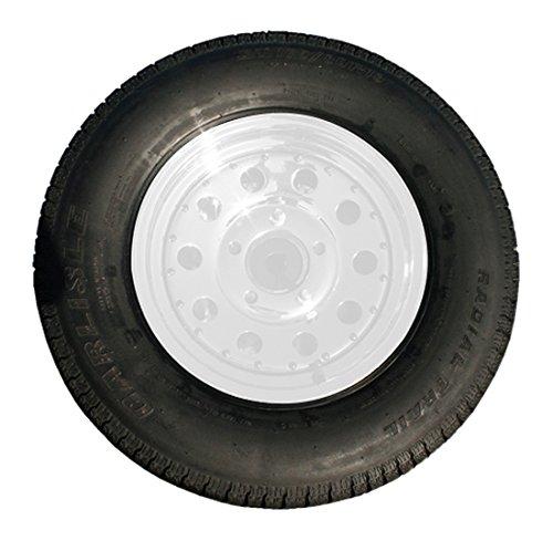 Drop Tail Trailers 03-13RWTS-01 13'' Custom Wheel & Tire ST175-80R13 Trailer Tire